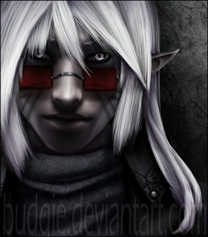 Drow with sunglasses
